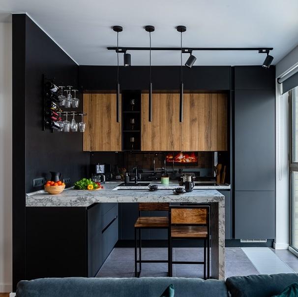 Кухня «Ханна Натив + Стоун Вуд»