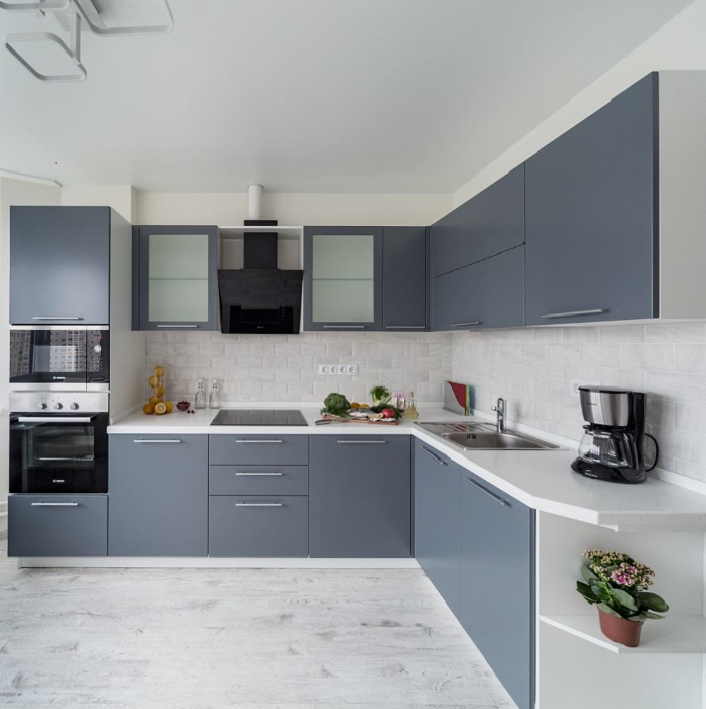 Кухня Фаворит серый