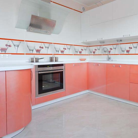 Кухня Фаворит 3 с фрезеровкой Новая волна