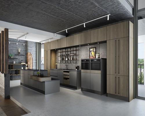 Кухня Генрих индастриал
