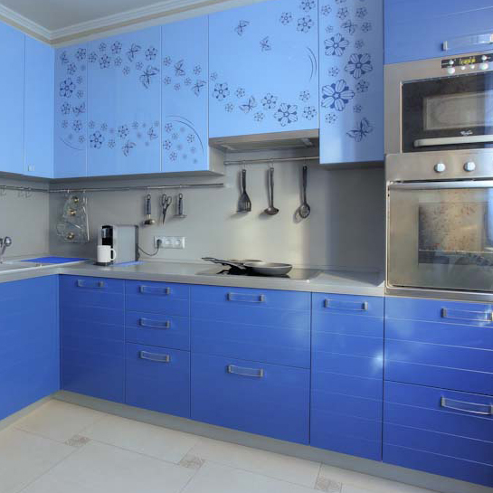 Кухня Флавия с монохромной печатью