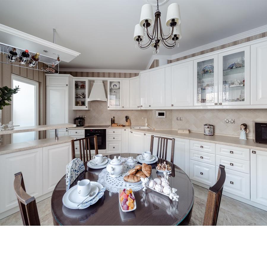 Кухня Айвори глянец